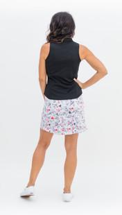 Amy Sport Frontline Sleeveless Mock - Black