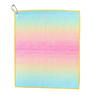 Cotton Candy Golf Towel
