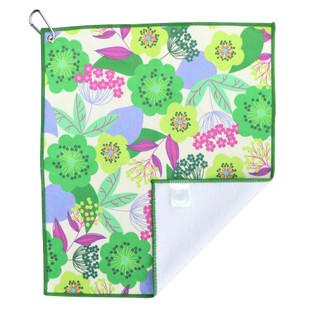Spring Garden Golf Towel