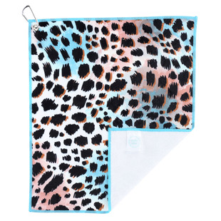 Millie Rose Microfiber Towel - Snow Leopard