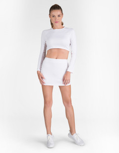 Tail Sasha Cropped Layering Top (Core Solids)