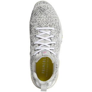 Adidas CodeChaos 21 Golf Shoe - White/Screaming Pink