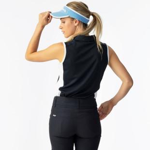 Daily Sports Roxa Sleeveless Polo - Navy