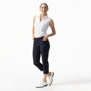 Daily Sports Miracle Highwater Cropped Pant - Plum