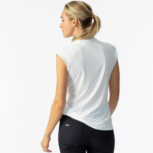 Daily Sports Parisa Cap Sleeve Mock - White