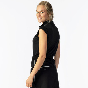 Daily Sports Parisa Cap Sleeve Mock - Black