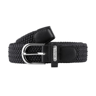 Daily Sports Giselle Braided Elastic Belt - Black
