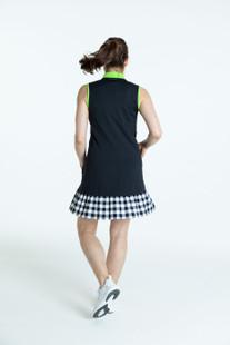 KINONA Show Stopper Sleeveless Golf Dress - Black