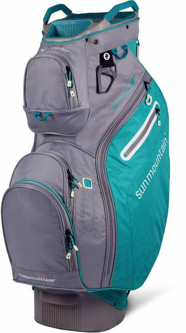 eff7619853a9f Sun Mountain Starlet Cart Bag - Tropic Turquoise Grey