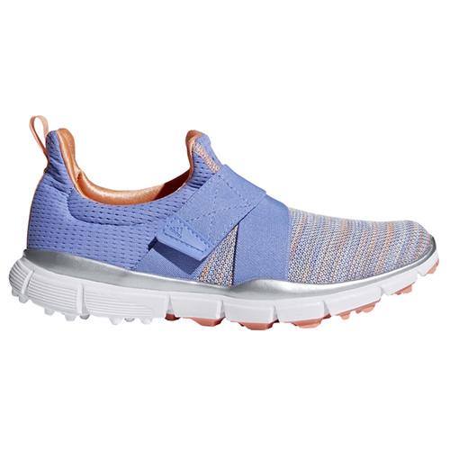 save off cbf5f a4bf5 Adidas Climacool Knit Golf Shoe - Chalk/Purple