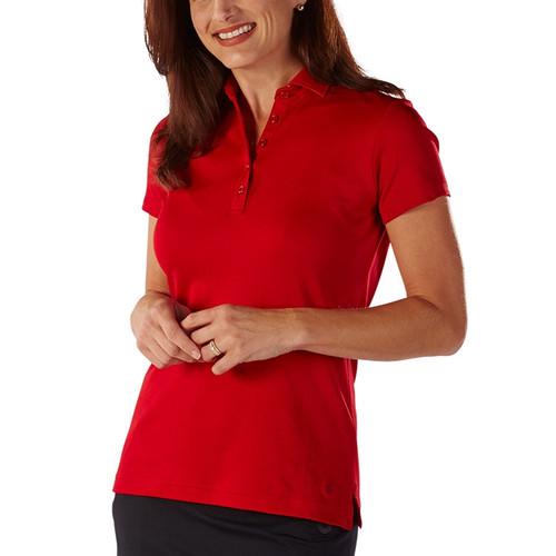 54538988e340 Bobby Jones Supreme Cotton Solid Polo - Cambridge Red