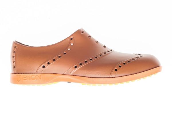 BIION Brights Golf Shoe - Brown & Bright Orange