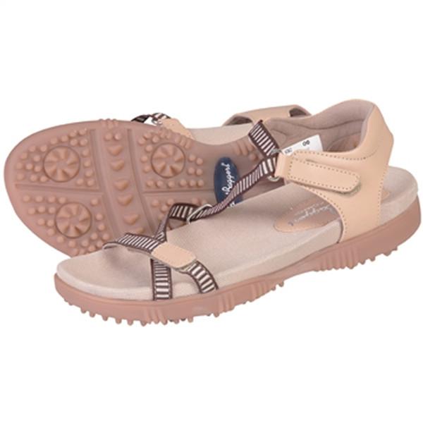 Sandbaggers Galia Golf Sandal - Tan