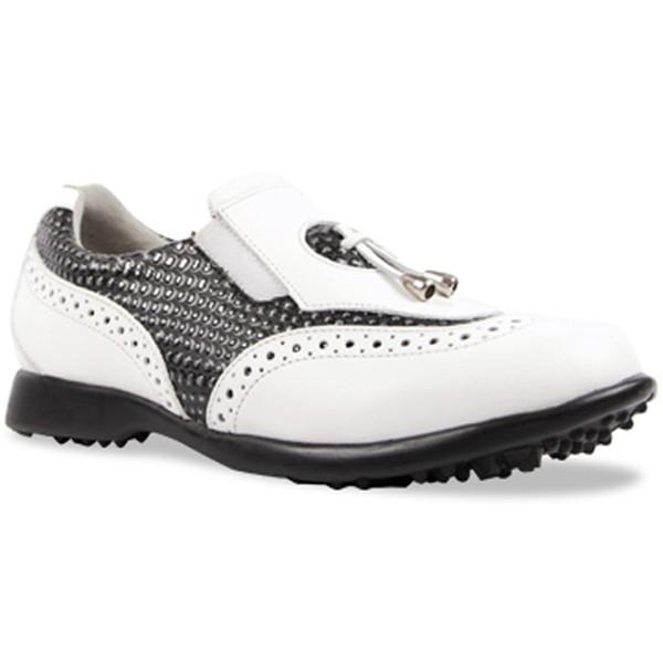Sandbaggers Madison II Ladies Golf Shoe - Blackstone