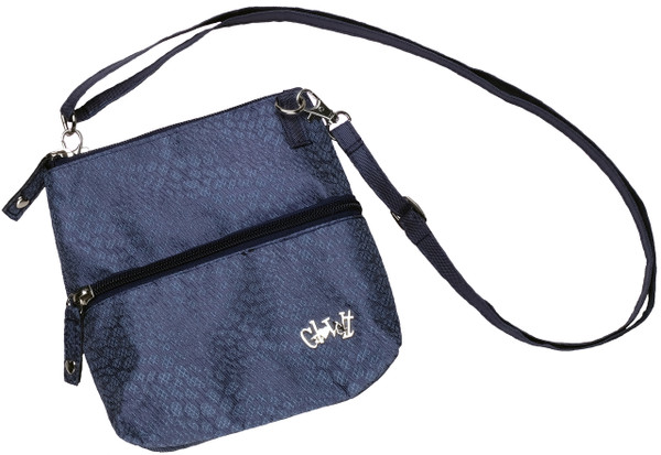 Glove It 2-Zip Cross Body Bag - Chic Slate