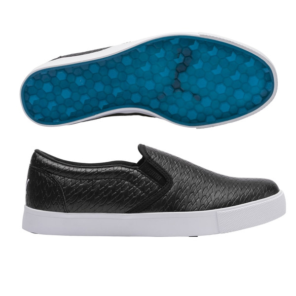 Puma Tustin Slip-on Golf Shoe - Black