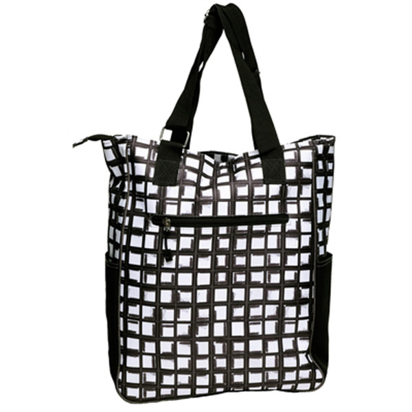 Abstract Pane Tennis Tote