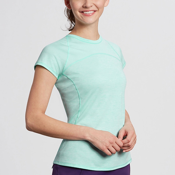 Annika Frequency Crew Short Sleeve Top (3 colors)