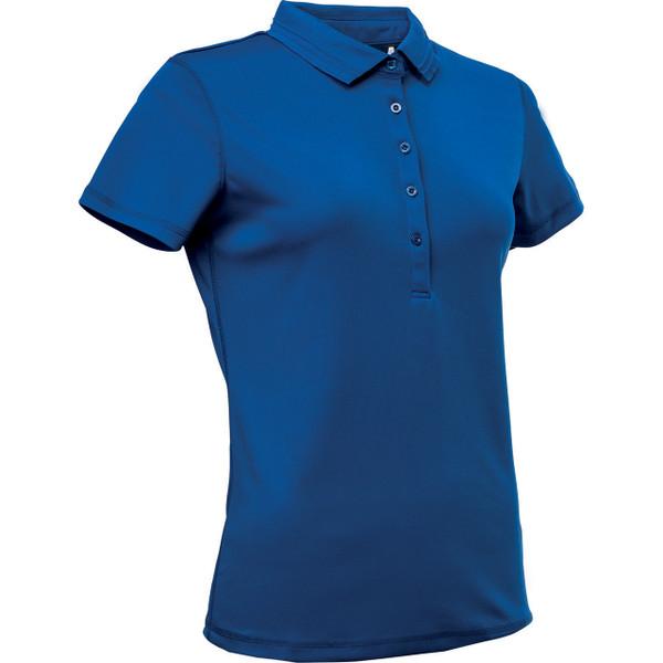 Abacus Clark Short Sleeve Polo - Cobalt