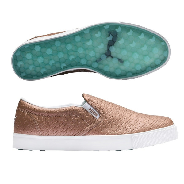 Puma Tustin Slip-on Golf Shoe - Rose Gold