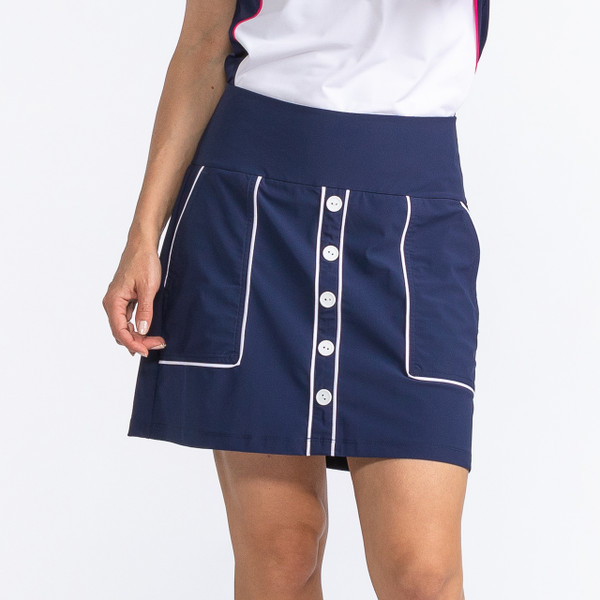 KINONA Modern Moves Golf Skort - Navy