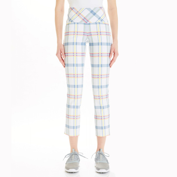 NEON PLAID MASTERS ANKLE-M4077