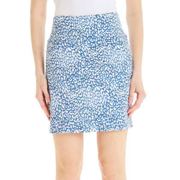 "Swing Control Masters 18"" Golf Skort - Chambray"