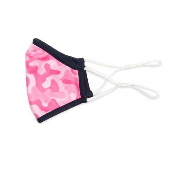 Ame & Lulu Kids Fit Masks - Pink Camo