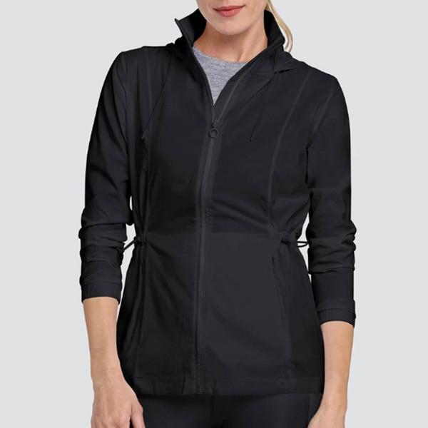 Nola Water Resistant Active Jacket - Onyx