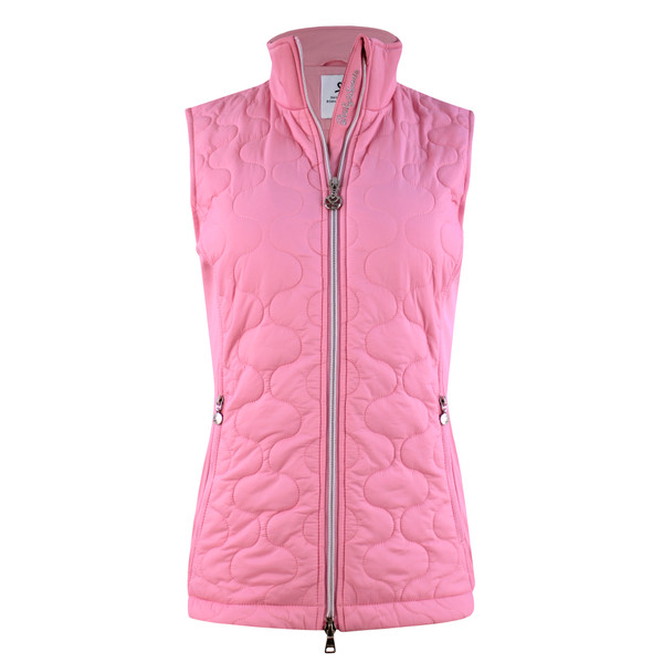 Draw Quilted Performance Vest - Lipstick