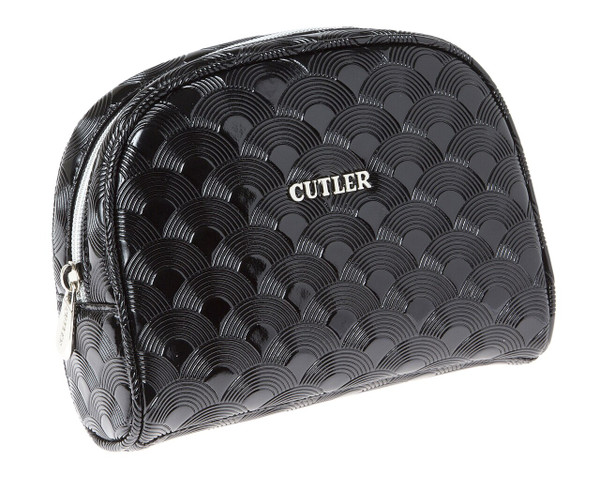 Cutler Fiji Noir Black Cosmetic Case
