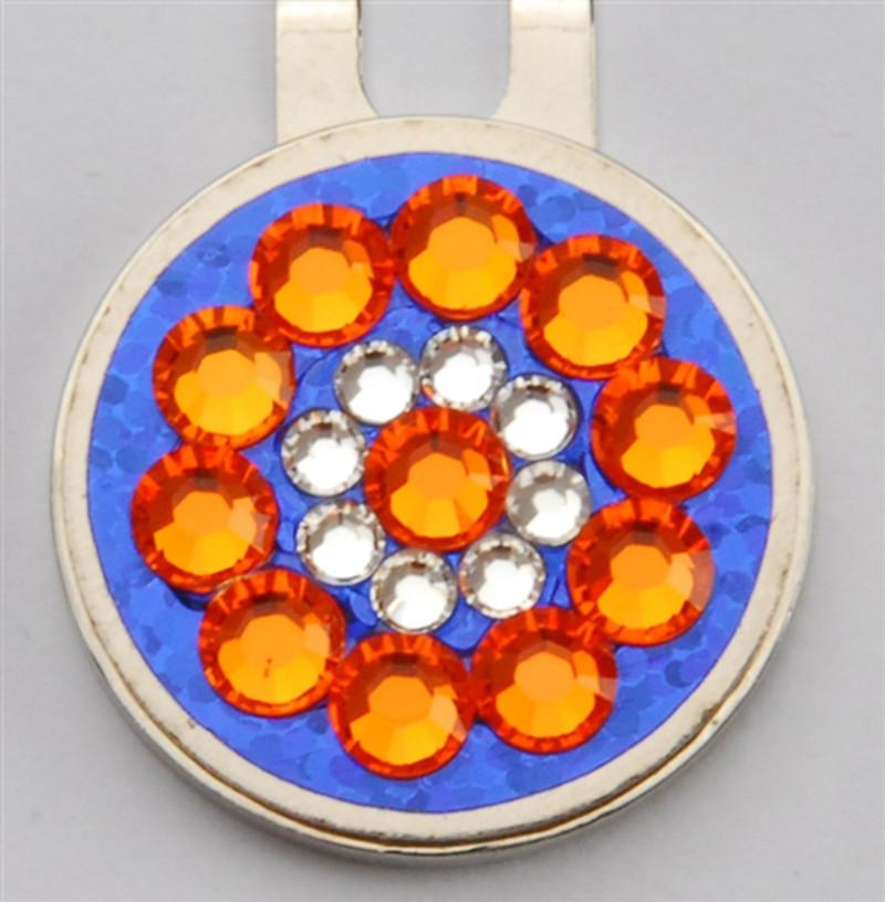 Blingo Ballmarker - Orange/Blue