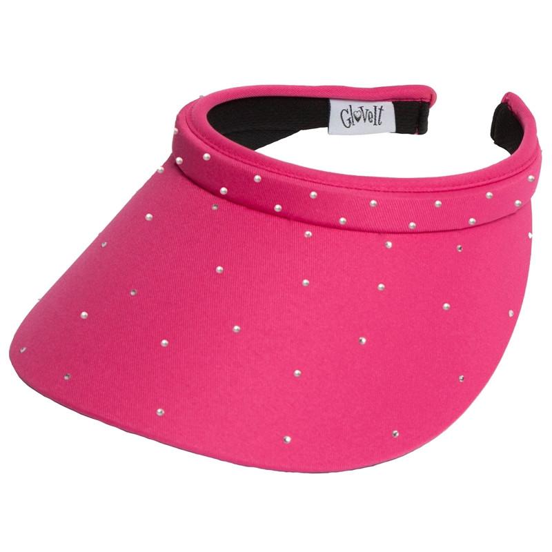 Glove It Bling Slide On Visor - Pink Crystals