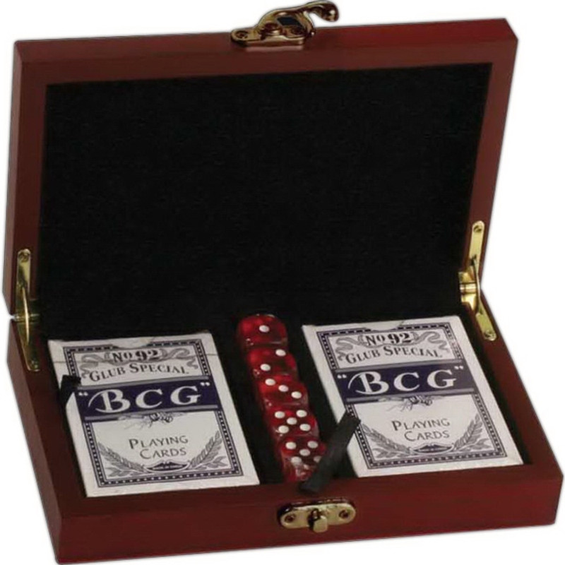 Kirk & Matz Card & Dice Set
