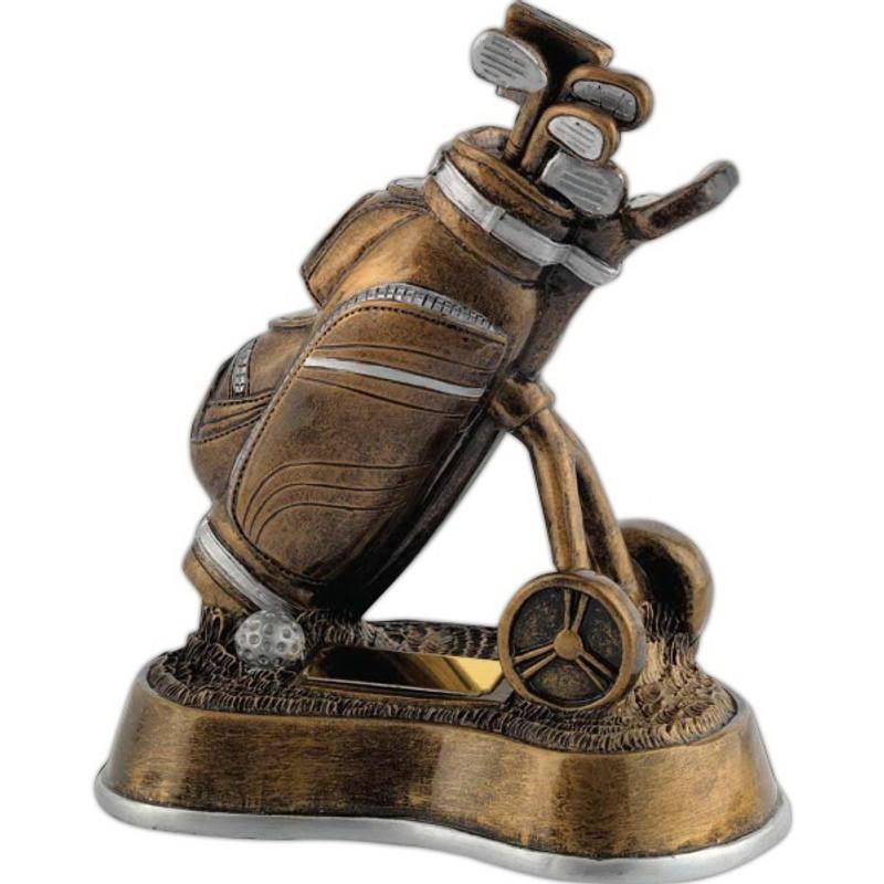 Kirk & Matz Golf Bag & Trolley Golf Award