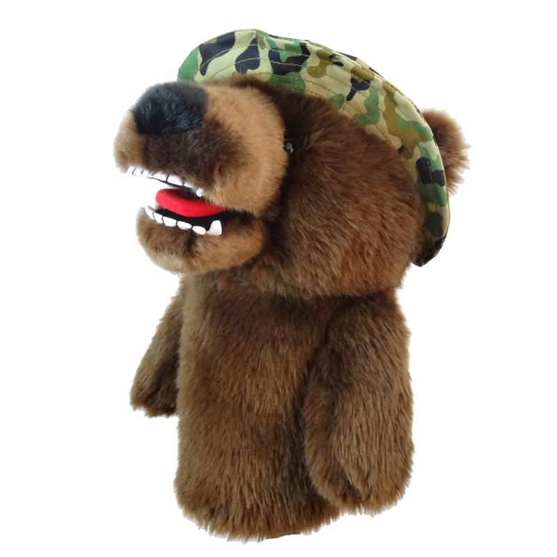 Daphne's Headcovers - Military Bear