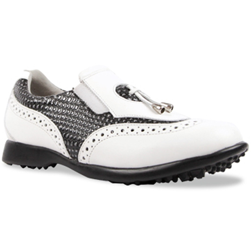 Sandbaggers Madison II Ladies Golf Shoe - Blackstone