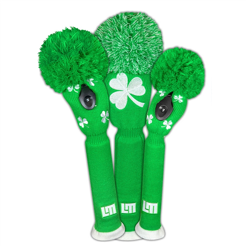 Loudmouth Golf Headcover Set - Shamrocks