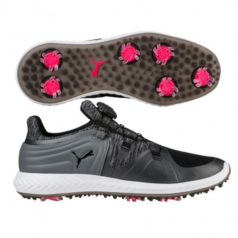 Puma IGNITE Blaze Golf Shoe - Black/Steel Grey