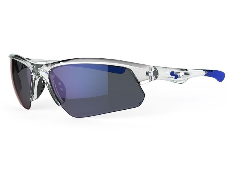 TrueBlue Stack Sunglasses - Crystal