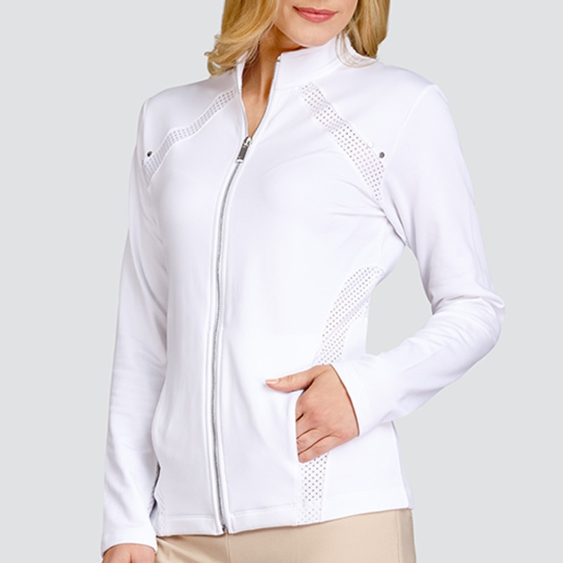 Tail Gail Active Jacket - White