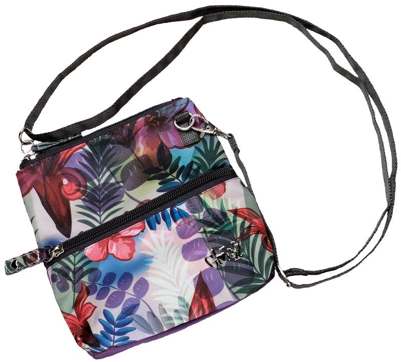 Glove It 2-Zip Cross Body Bag - Tropical