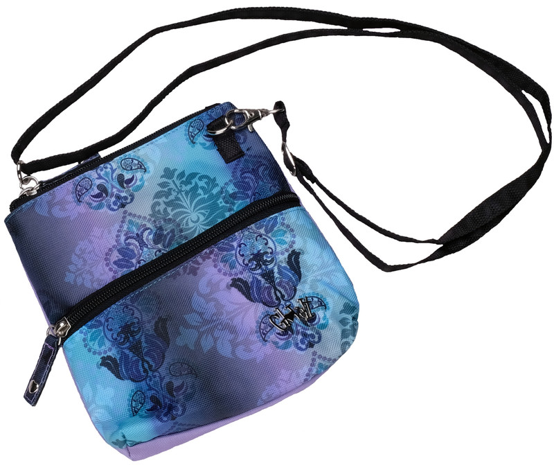 Glove It 2-Zip Cross Body Bag - Lilac Paisley