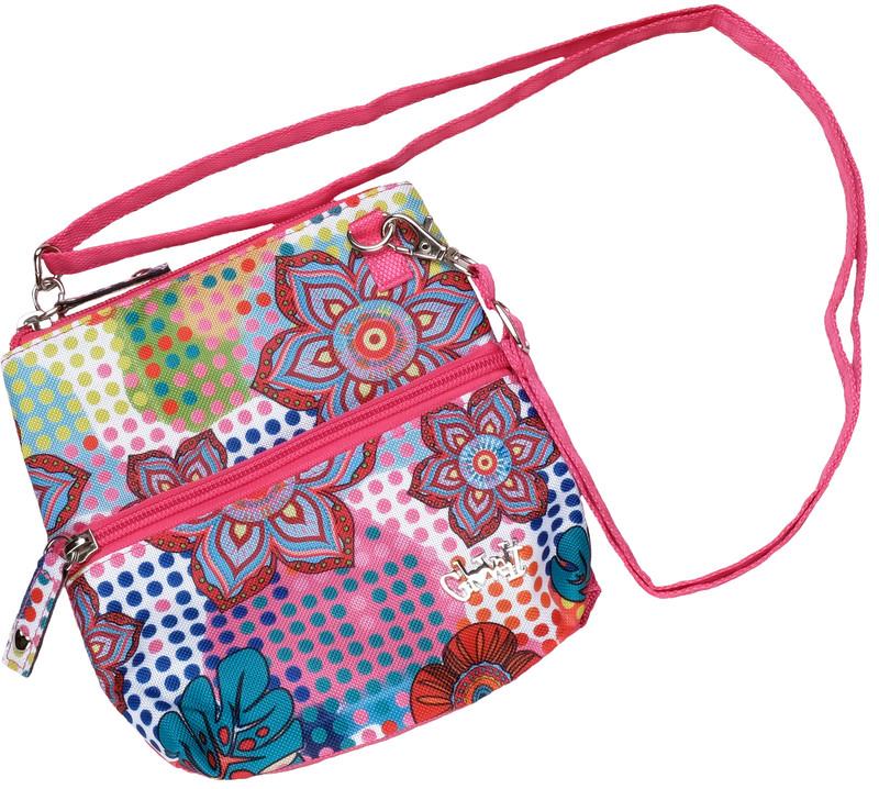 Glove It 2-Zip Cross Body Bag - Bloom