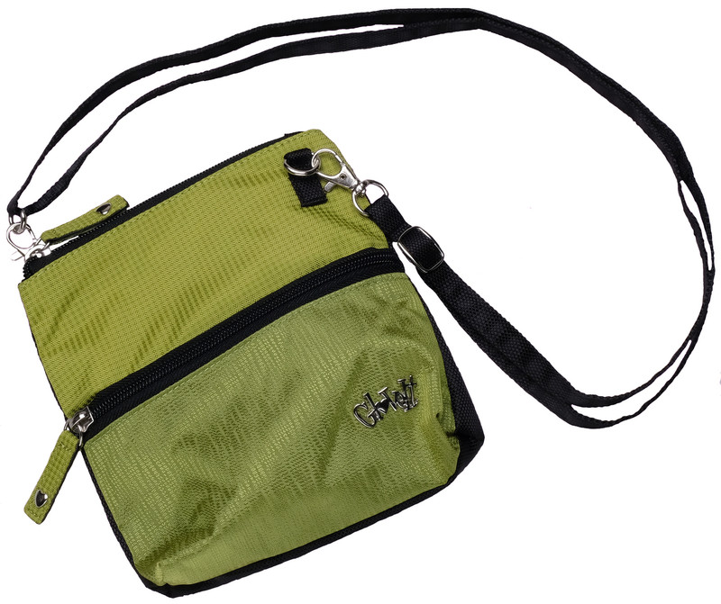 Glove It 2-Zip Cross Body Bag - Kiwi Check