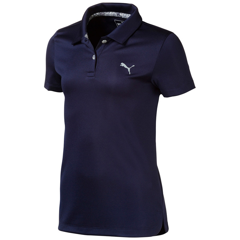 Puma Junior Essentials Golf Polo - Peacoat
