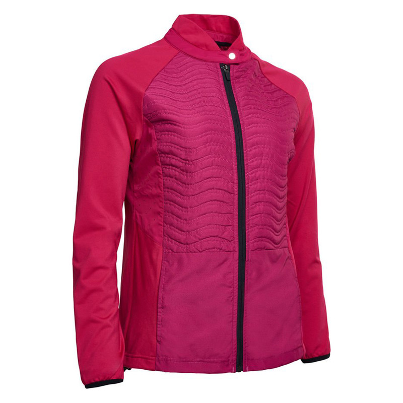 Abacus Troon Hybrid Jacket - Cyclamen