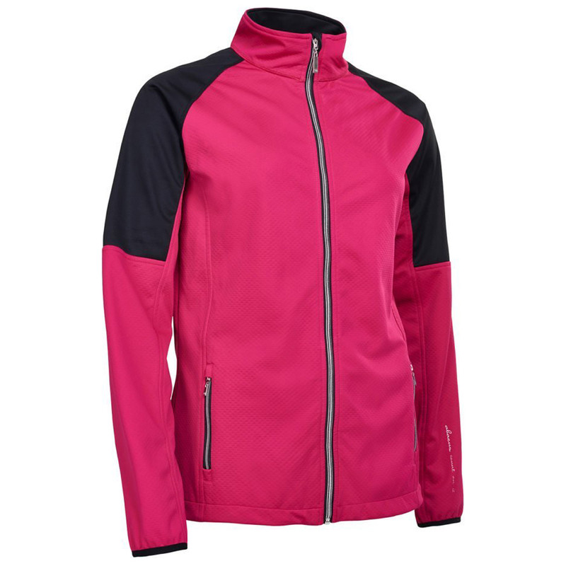 Abacus Arden Softshell Jacket - Cyclamen