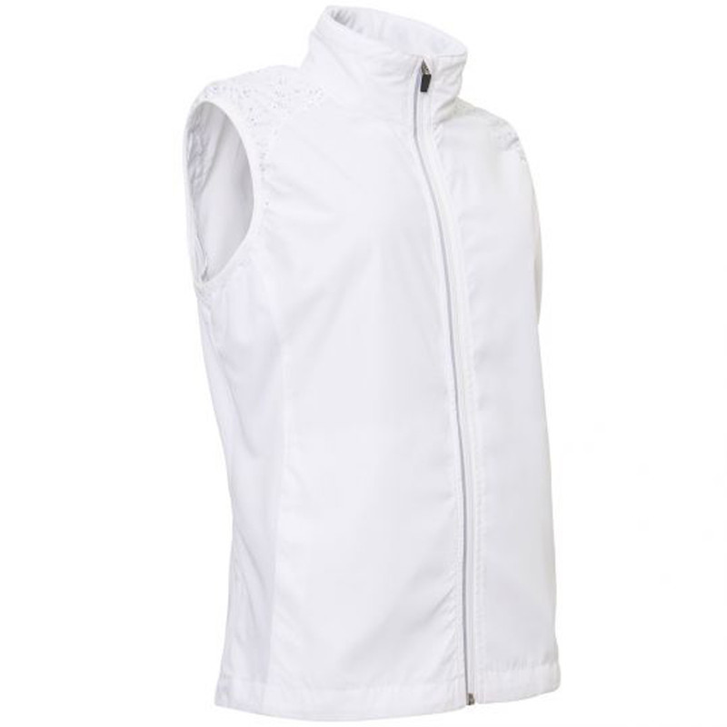 Abacus Formby Stretch Wind Vest - White