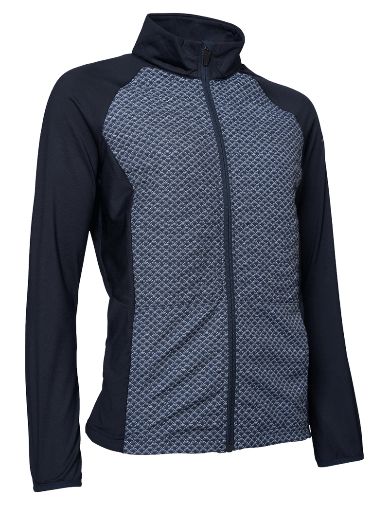 Abacus Troon Hybrid Jacket - Navy/White